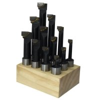 20mm Carbide Tipped Boring Bar 12pcs Set