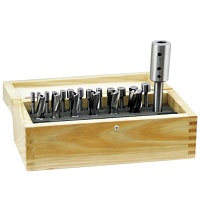 HSS Interchangeable Pilot Counterbore 21pc Set