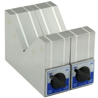 Magnetic V-Block 150x50x100mm  (2pcs Set)