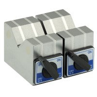 Magnetic V-Block 100x50x80mm  (2pcs Set)