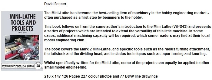Mini-Lathe Tools and Projects (WPS48)