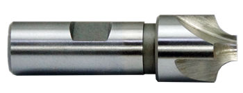 1mm to 10mm 4 Flute HSS Corner Rounding End Mills