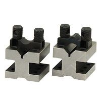V-Block and Clamp Set 35x35x30mm 2pcs Set