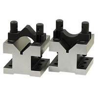 V-Block and Clamp Set 60x60x50mm 2pcs Set