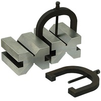 "V-Block and Clamp Set 1.3/4""x2.1/2""x2.3/4"" 2pcs Set"