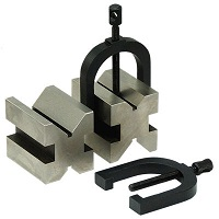 "V-Block and Clamp Set 1.3/8""x1.5/8""x1.3/4"" 2pcs Set"